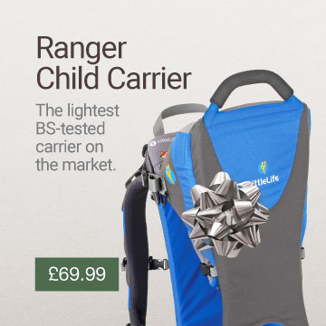 Ranger S1 Child Carrier Christmas Gift Idea Banner